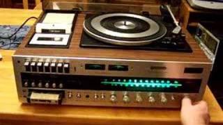 VINTAGE 8 TRACK QUADRAPHONIC AM FM CASSETTE RECORDER  EBAY