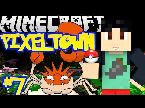 Minecraft: Pixelmon 4.0.5 - PixelTown Adventure Series w/ FaceCam #7 - BOULDER BADGE! (Pixelmon Mod)