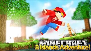Minecraft Adventure - LITTLE ROPO'S TRAPPED ON 8 ISLANDS!!