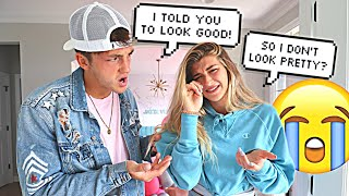 I Told You To LOOK GOOD...*PRANK ON FIANCE*