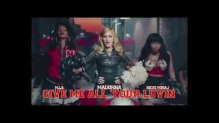 Madonna ft Mia Nick Minaj e LFMAO- Give me all your Luvin (Fox DJ Extended Club)