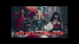 Madonna ft Mia Nick Minaj e LFMAO- Give me all your Luvin (Fox DJ Extended Club)