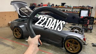 4 Rotor Chassis Work and Tube Bending! 22 Days until SEMA.