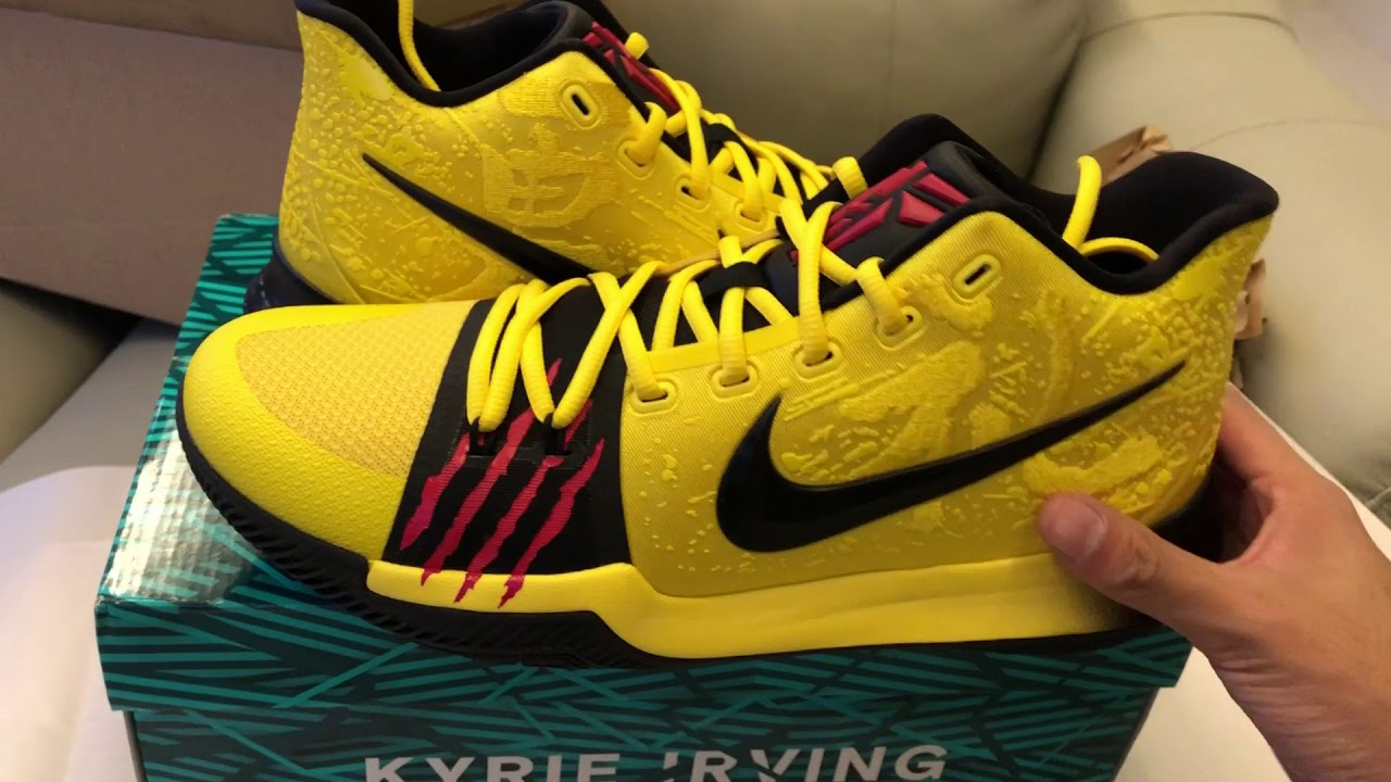 timeless design 6c327 e0826 Nike Kyrie 3 Mamba Mentality Bruce Lee Unboxing From GOAT APP