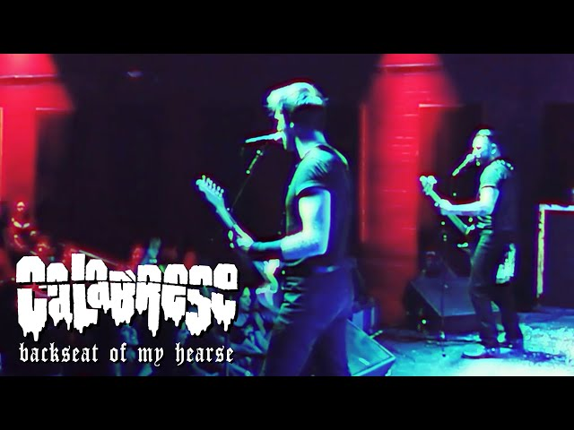 CALABRESE - Backseat of My Hearse | LIVE, RAW & EVIL | Mesa, AZ - 2019