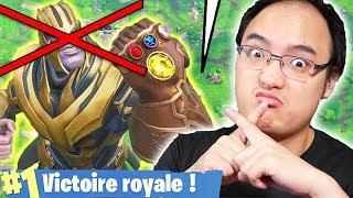 MEILLEURE TACTIQUE POUR TUER THANOS !   Fortnite Battle Royale