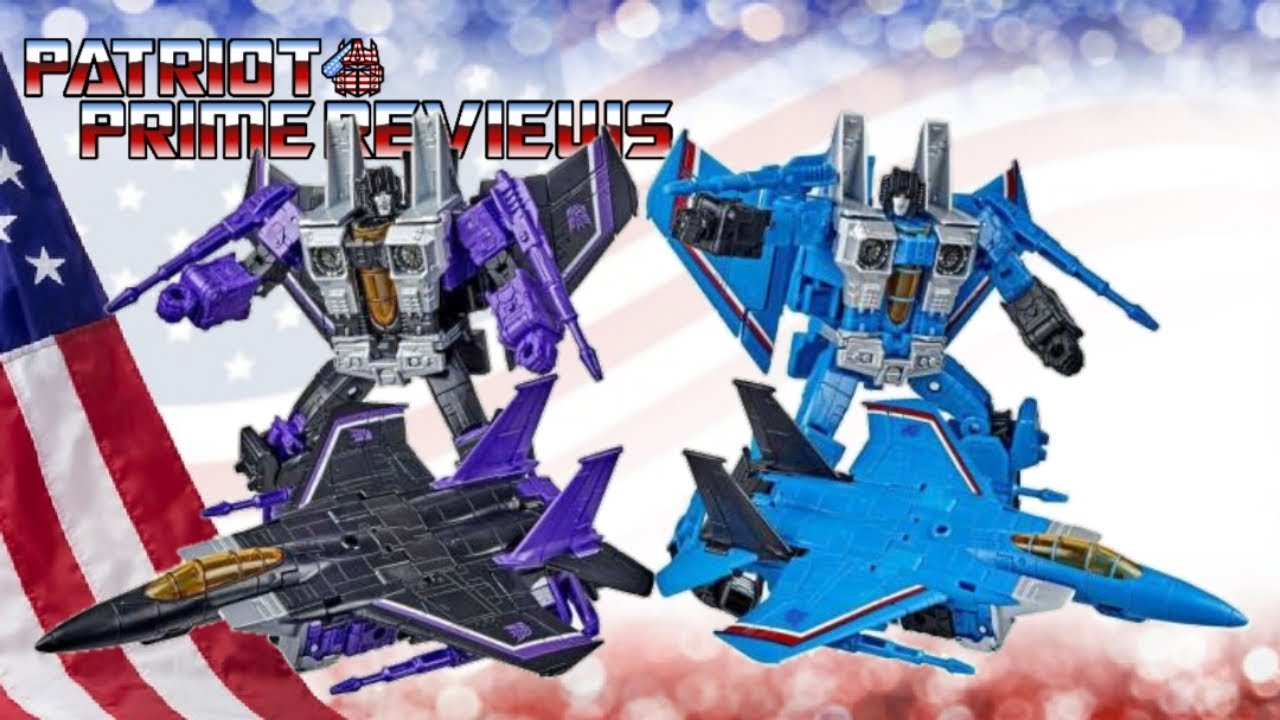 Patriot Prime Reviews Earthrise Skywarp & Thundercracker