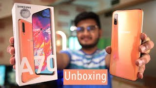 Samsung Galaxy A70 Unboxing | Midrange King?