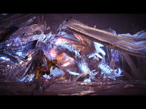 Monster Hunter: World - Arch Tempered Xeno'jiiva SOLO in 10:38 w/Pierce HBG (Build at the end!) thumbnail