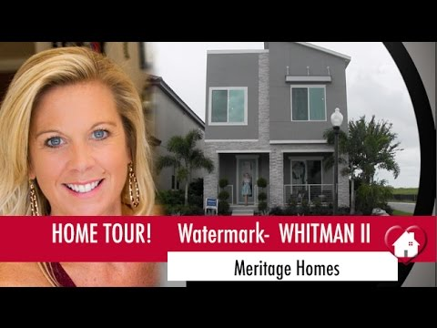 New Homes Winter Garden Florida  Whitman II Model By Meritage Homes At  Watermark