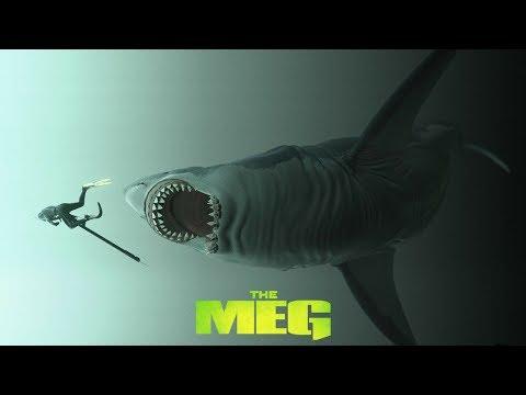 The Meg Movie 2018 Inspired by The Megalodon Shark