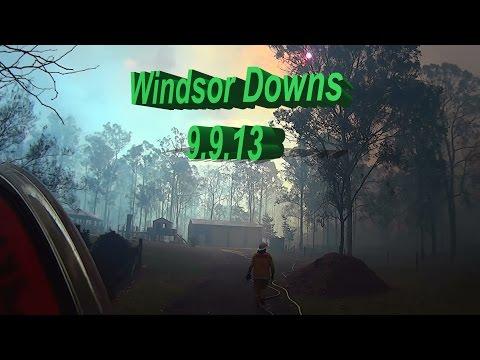 Windsor Downs fire  9.9.13 Oakville RFS Responding