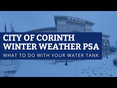 PSA: What You Should Do With Your Water Tank?