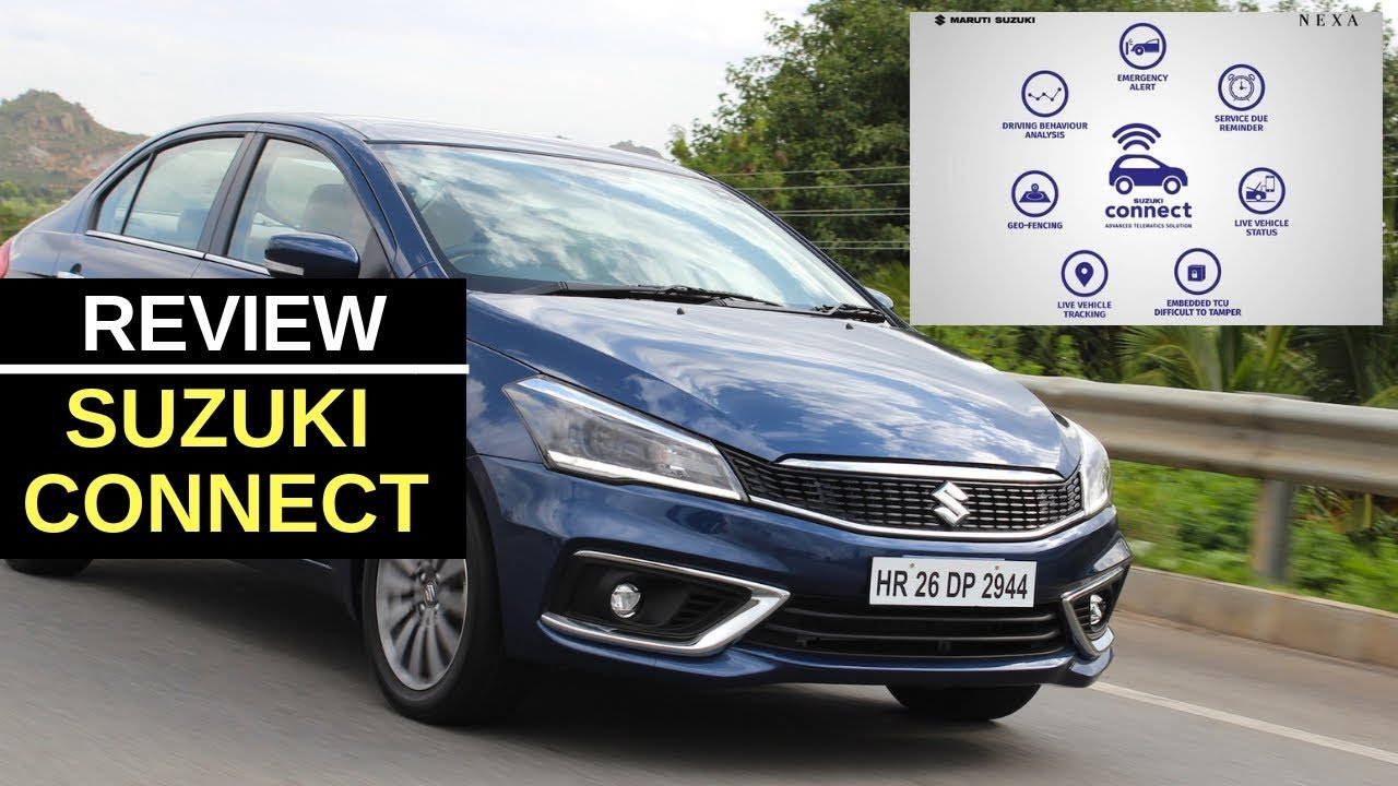 Hindi review of the Suzuki Connect App on the new Maruti Ciaz