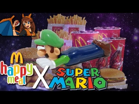 My First Shooting Stars Meme - Opening the NEW Super Mario Brothers McDonald's Happy Meal Toys!