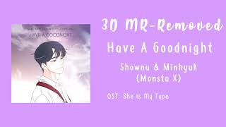 3D- HAVE A GOODNIGHT - SHOWNU & MINHYUK (MONSTA X)