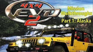 4x4 Evo 2 Mission Walkthroughs - Part 1: Alaska