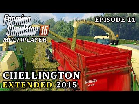 Multiplayer Farming Simulator 15 | Chellington Extended | Episode 11