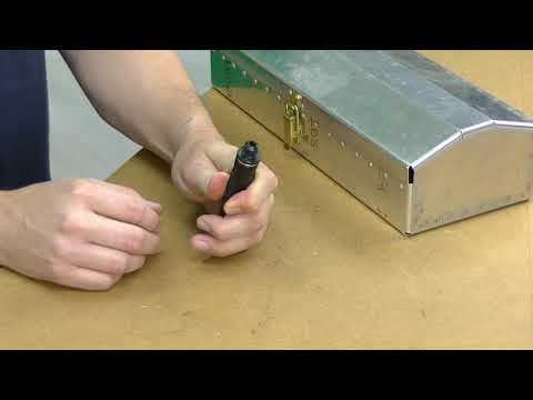 Rivet Removal Tool How To Demo @ Cleaveland Aircraft Tool