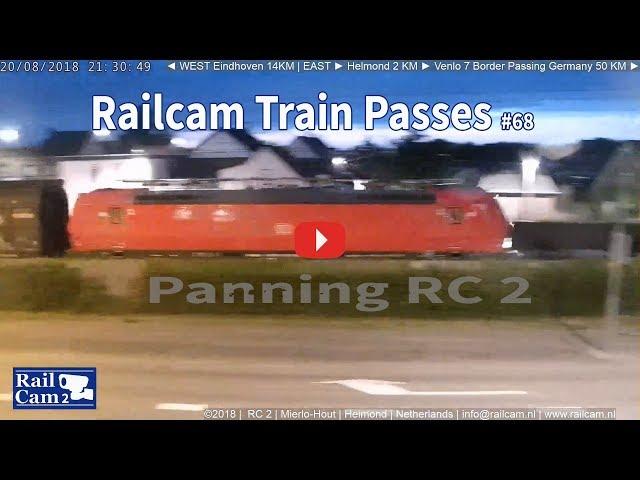 RailCam Train passes + panning #68