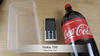 Nokia 150 2017 Coca-Cola - Test!