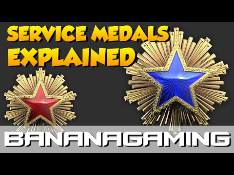 CS:GO - Service Medals Explained!
