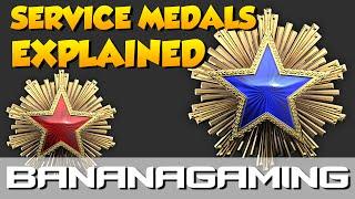 CS:GO - Service Medals Explained!