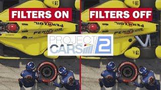 PROJECT CARS 2 - PC 1080p Comparaison FILTRES + FPS