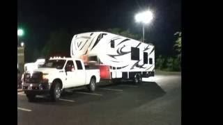 Towing 5th Wheel Toy Hauler w/ 2012 Ford F-350 6.7