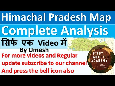Himachal Pradesh Complete map Analysis
