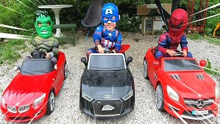 Become super heroes and save mom / Kids pretend play with Marvel Avengers | Nastya,Diana,Vlad,Ryan