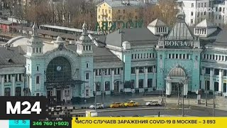 Белоруссия временно отменяет оставшиеся поезда в Россию - Москва 24