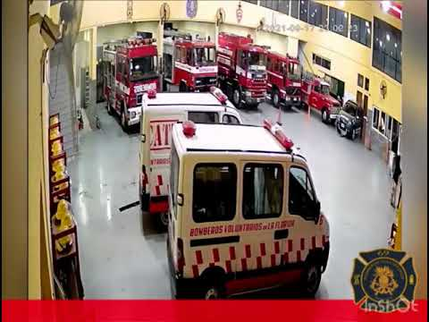 Bomberos de La Florida, en Quilmes, salvaron la vida de un nene.