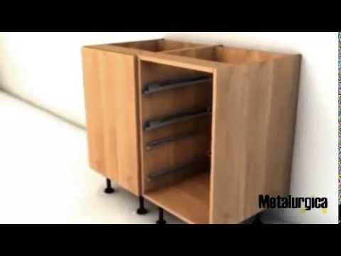 Demostración Muebles Cocinas Modulares - YouTube