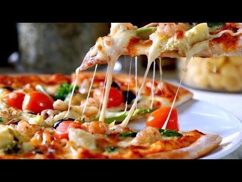صورة  طريقة عمل البيتزا طريقة عمل البيتزا زي المطاعم 👌وسر العجينه الناجحه مع صلصة البيتزا الرهيبه والناجحه مئه بالمئه👍 طريقة عمل البيتزا من يوتيوب