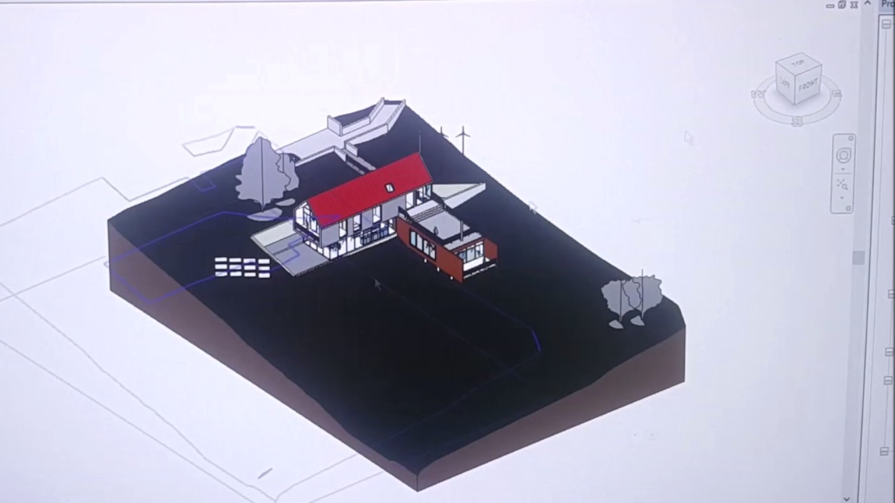 Custome Skybox by Revit and Enscape