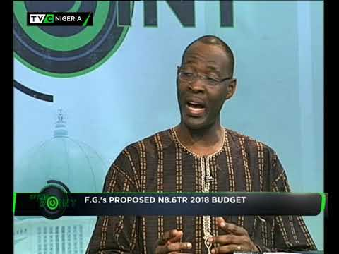 StandPoint   F.G's proposed N8.6 trillion 2018 Budget