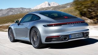 2019 Porsche 911 992 first look & exhaust sound (Carrera 4S)