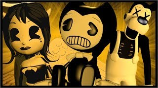 BENDY AND THE INK MACHINE MEETS ROBLOX!