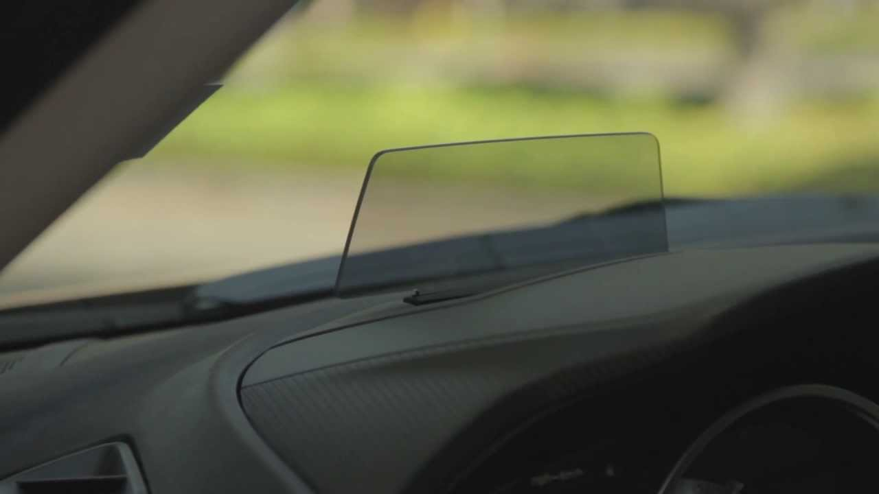 2014 Mazda3 Heads Up Display Dgdg Tv Youtube
