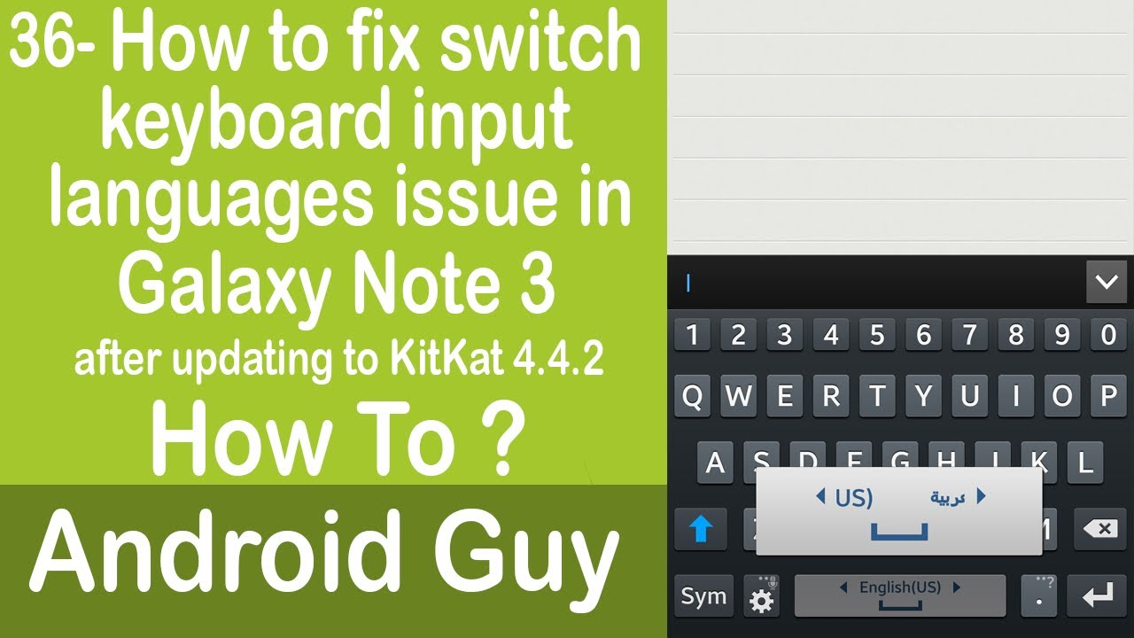 how to add language to keyboard note 8