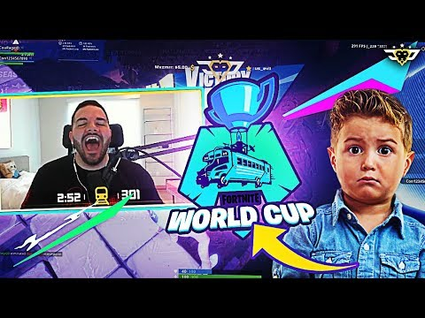 SENDING CONNOR TO THE FORTNITE WORLD CUP FINALS?! (Fortnite: Battle Royale)