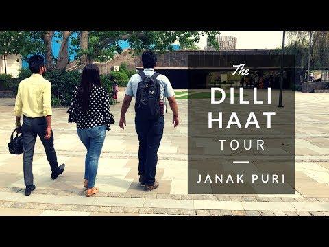 Dilli Haat in JanakPuri | Delhi Haat | Reasonable Price Market