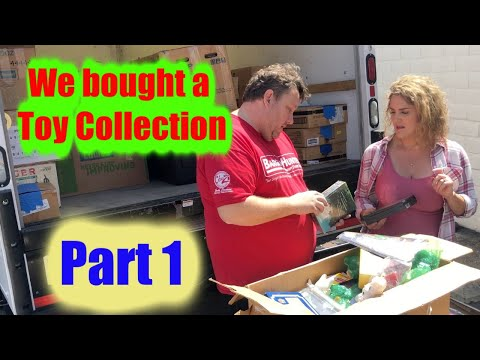 We Bought A Toy Collection For $3800 Part 1 Storage Wars Hot Wheels Marvel