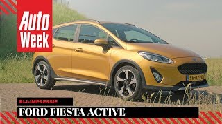 Ford Fiesta Active - AutoWeek review - English subtitles