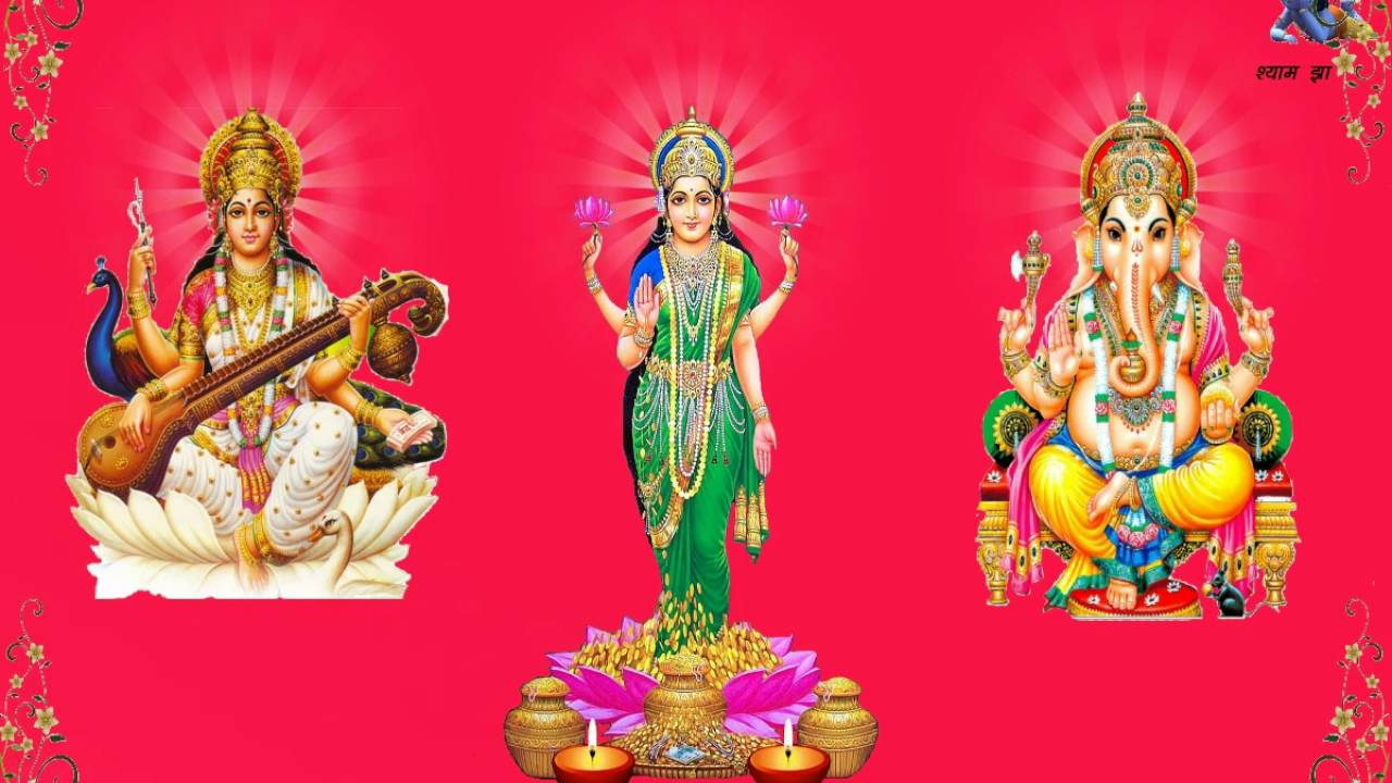Dipawali Lakshmi Ganesh Sarswati Image Hdd Videos Youtube