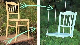 Create Your Own Diy Tree Swing !