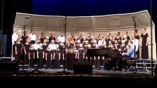 Pink Elementary Honor Choir at Big D Classic 2014 performing Cantate Et Exultate.