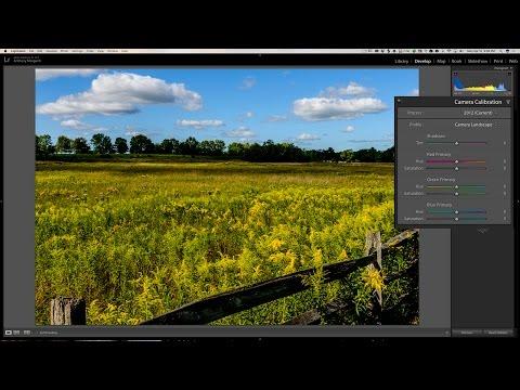 Lightroom Quick Tips - Episode 102: The Camera Calibration Tab