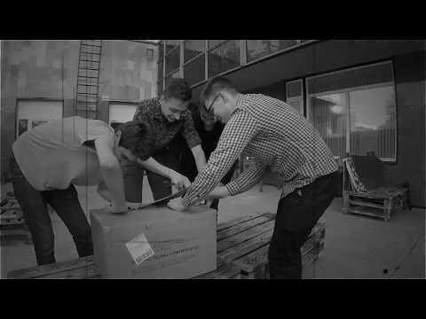 Unboxing Rev Robotics kit FGC 2018 / Team Belarus / FIRST Global